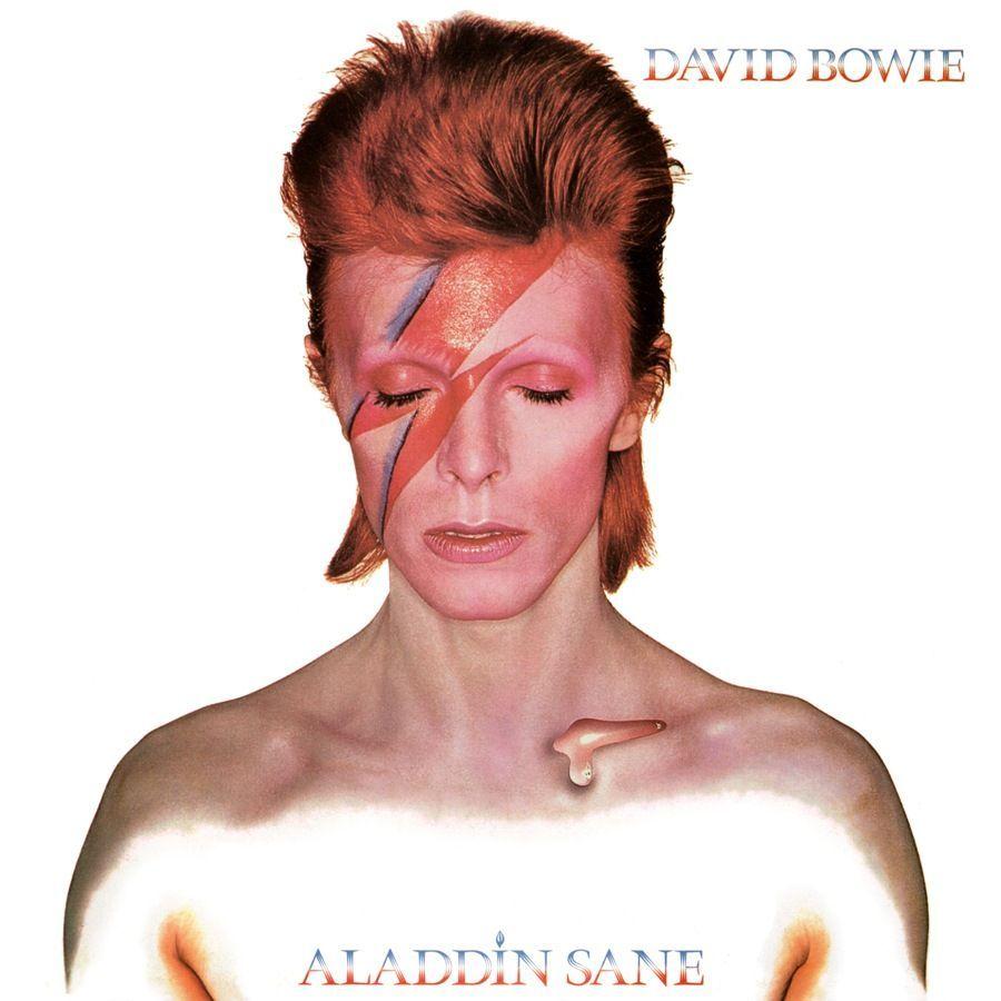David Bowie Aladdin Sane Copertina Cover