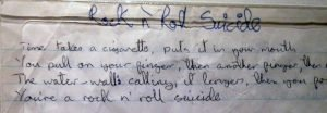 Rock'n'Roll-Suicide-Lyrics-handwritten