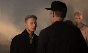 David Bowie con Renck durante le riprese