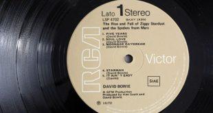 Vinile di Ziggy Stardust