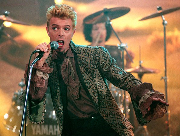 Bowie a Sanremo 1997