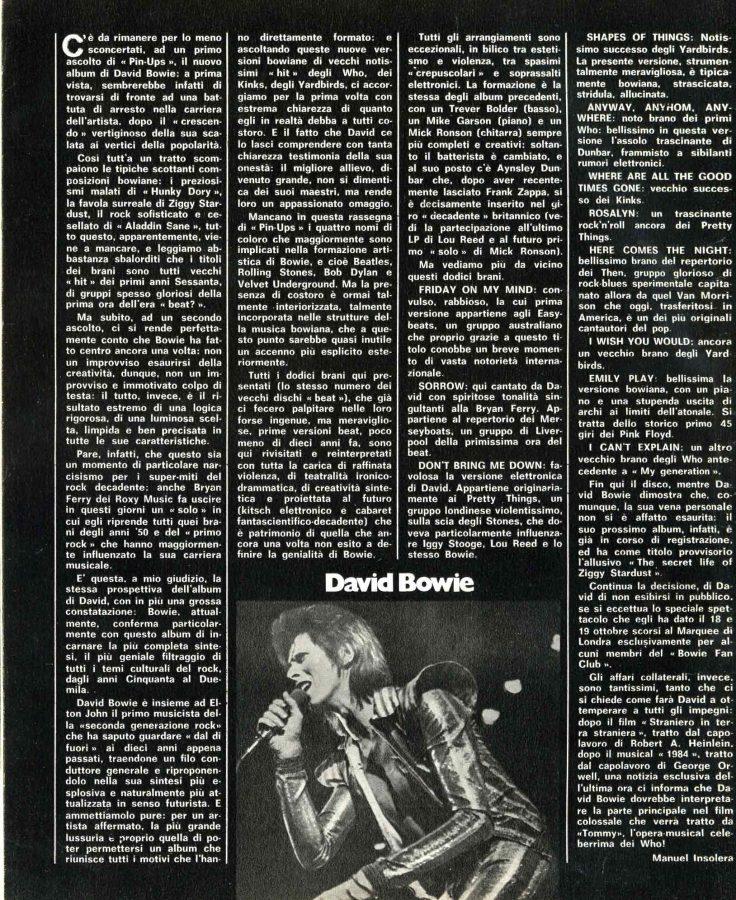 Pin-Ups Ciao 2001 1973