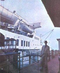 Bowie al Porto di Genova 1976