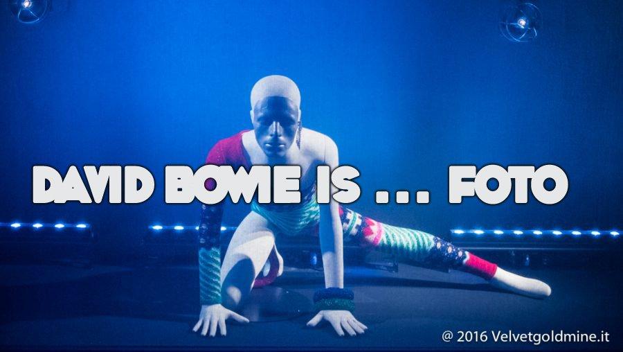 David Bowie Is Foto: VG documenta la mostra