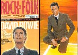 David Bowie, Rock&Folk, luglio 2002 1