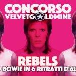 Concorso Rebels libro Bowie
