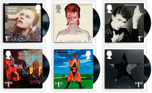 David Bowie Francobolli 1 Stamps