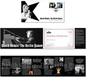 David Bowie Francobolli Berlin Years Stamps