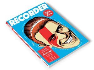 Recorder Magazine dedicato a David Bowie e patrocinata dai fan 2
