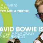 david bowie is trieste tributo