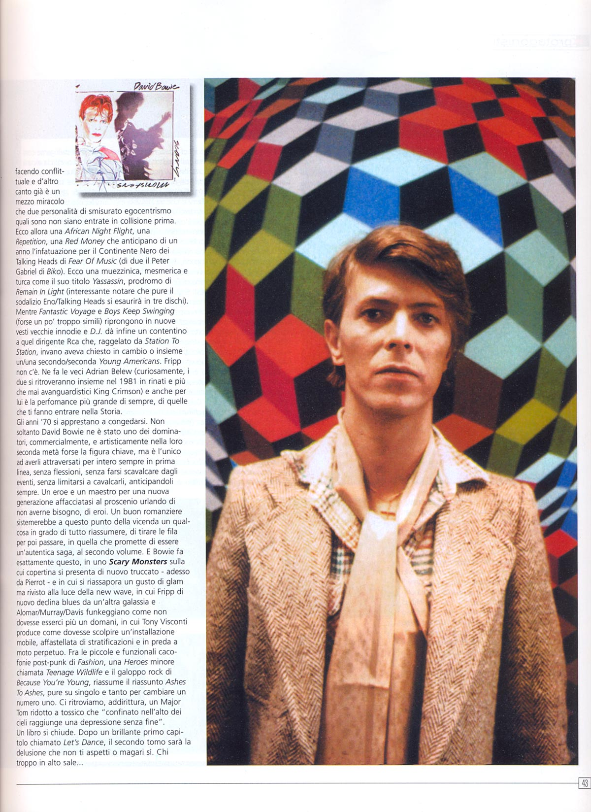 Bowie Stampa Mucchio Extra 2006