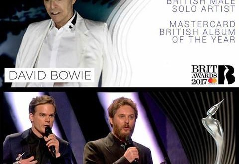 Bowie Brit Awards 2017