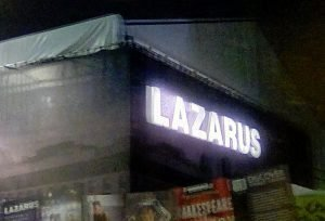 Lazarus musical al King's Cross Theatre di Londra