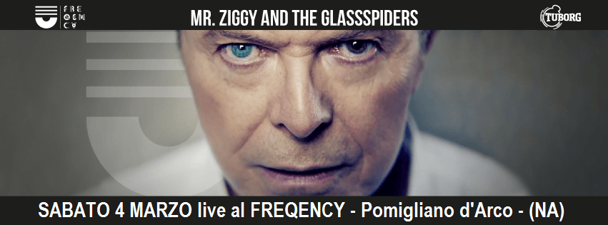 Mr. Ziggy & the Glassspiders Appuntamenti di Marzo 2017
