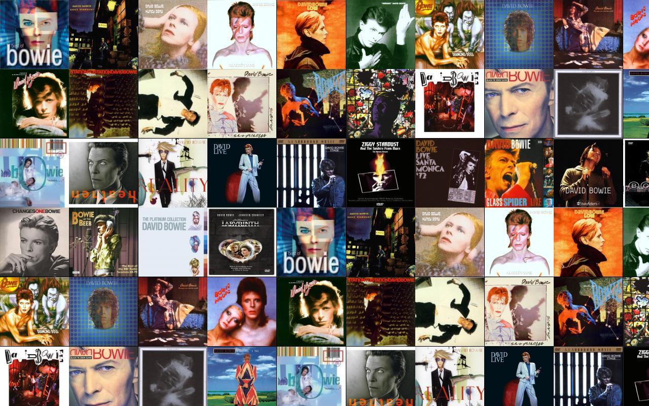 Risultati immagini per tutti album bowie