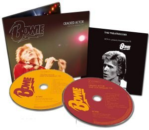 David Bowie Cracked Actor CD Live in Los Angeles 74
