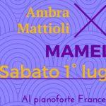 Ambra Mattioli 1 luglio 2017 - Bowie appuntamenti luglio