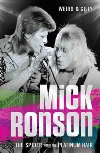 Mick Ronson Platinum Hair Libro Book