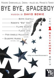 Bye Bye Spaceboy Bowie appuntamenti agosto 2017