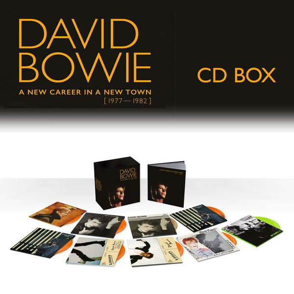 a new career in a new town set CD