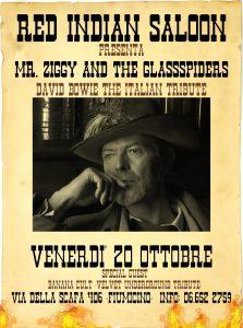 MrZiggy & the glasspiders appuntamenti ottobre 2017
