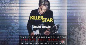 Bowie appuntamenti febbraio 2018