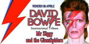 Mr. Ziggy & the glassspiders Bowie appuntamenti aprile 2018