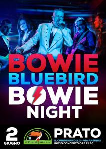 Bowie Bluebird Bowie appuntamenti giugno 2018