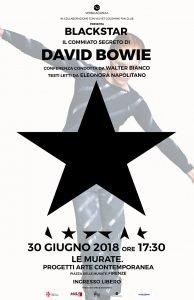 Blackstar Conferenza Bowie appuntamenti giugno 2018