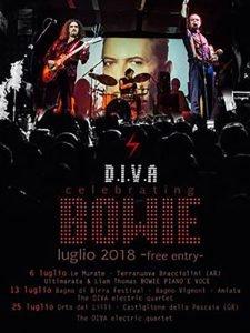 Bowie appuntamenti luglio 2018