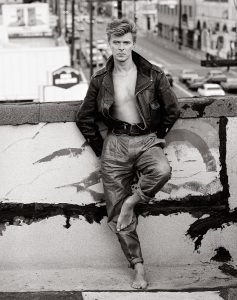 David Bowie 1987 Loving the Alien cofanetto Herb Ritts
