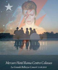 Bowie appuntamenti settembre 2018