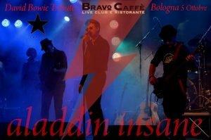 Aladdin Insane BravoCafe Bowie appuntamenti ottobre 2018