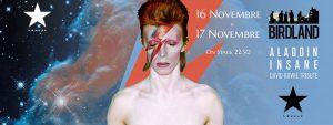 Bowie appuntamenti novembre 2018