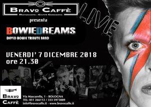 Bowie appuntamenti Dicembre 2018