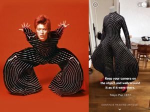 David Bowie is AR 2