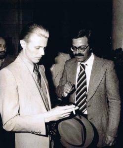David Bowie Carlo Basile Genova 1976