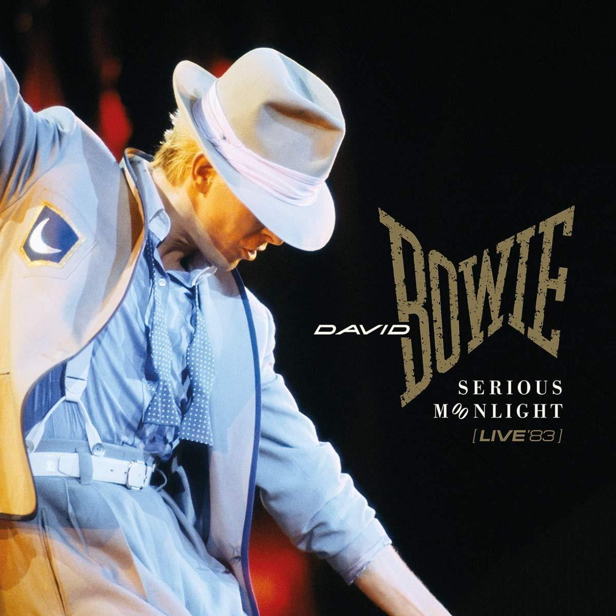 David Bowie serious moonlight live 83 copertina cover