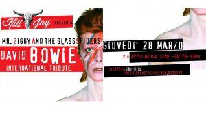 Bowie appuntamenti Marzo 2019