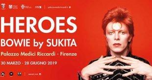 Locandina Heroes Bowie by Sukita Firenze