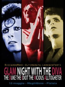 Diva Glam Night Bowie appuntamenti maggio 2019