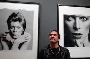 Riccardo Mori Live Mostra Bowie Sukita Firenze
