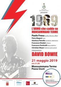 Locandina Fresu Bowie Monsummano Concerto e Giardino